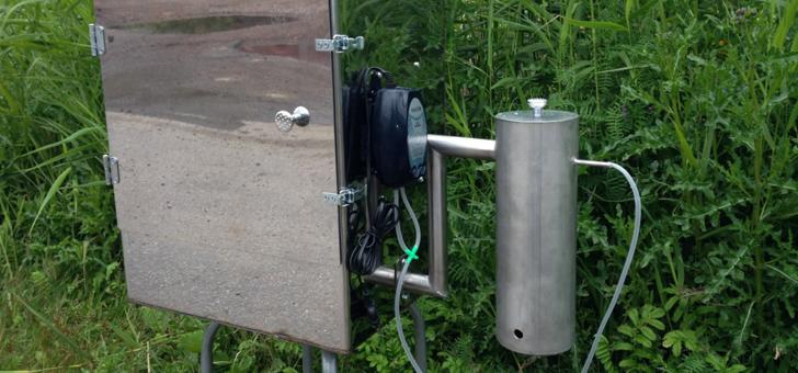 Коптилка с дымогенератором