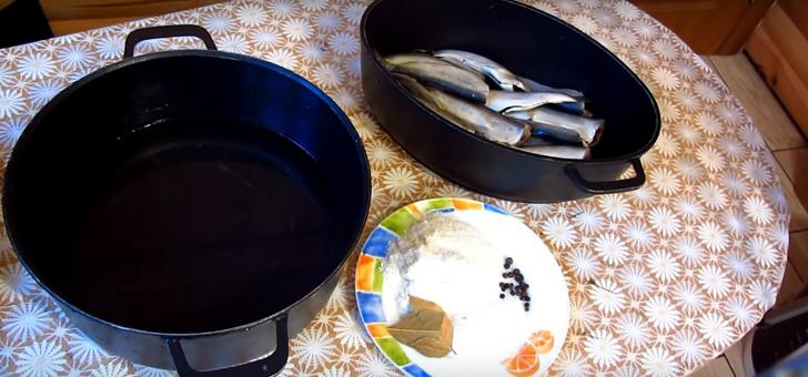 Приготовление мокрой засолки