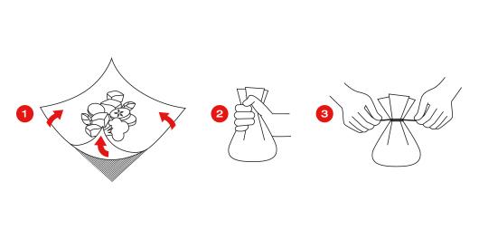 Формирование из смеси кулек