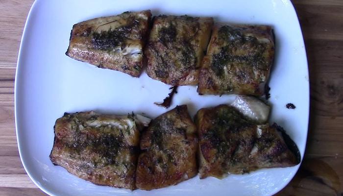 Копченое филе черной трески