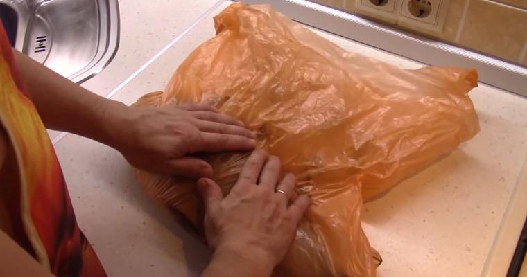 Засолка рыбы в пакете