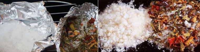 Копчение соли в мультиварке-коптильне