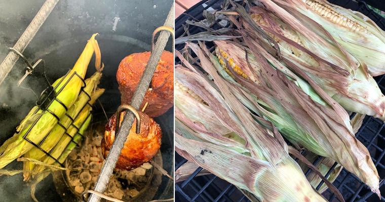 Копчение кукурузы