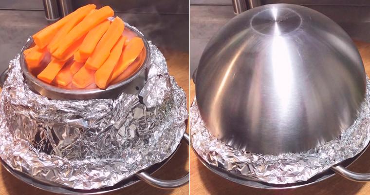 Копчение моркови