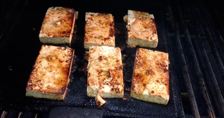 Тофу барбекю