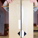 Готовая картонная коптильня