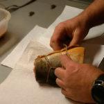 Обвязка рыбы для удобной просушки