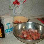Засолка ломтиков горбуши с добавлением жидкого дыма