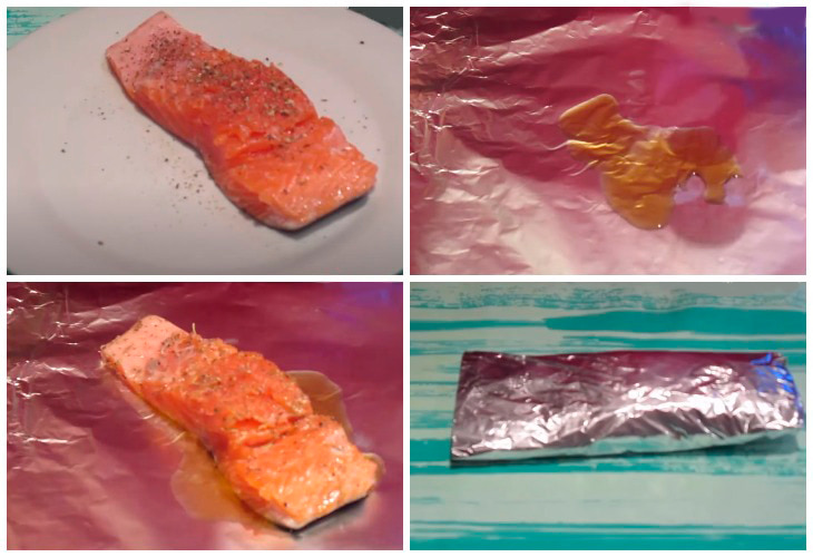 Копчение лосося в мультиварке