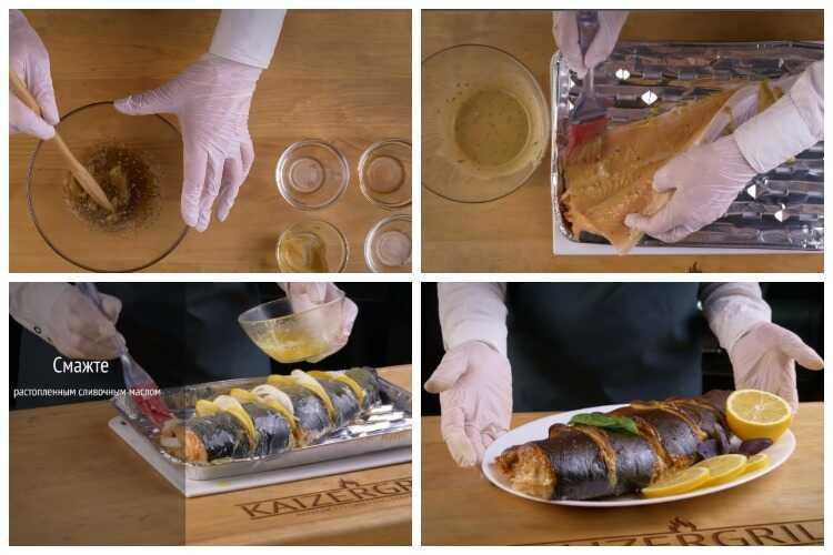 Копчение лосося в смокере