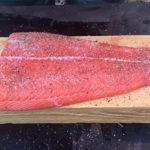 Засолка филе лосося