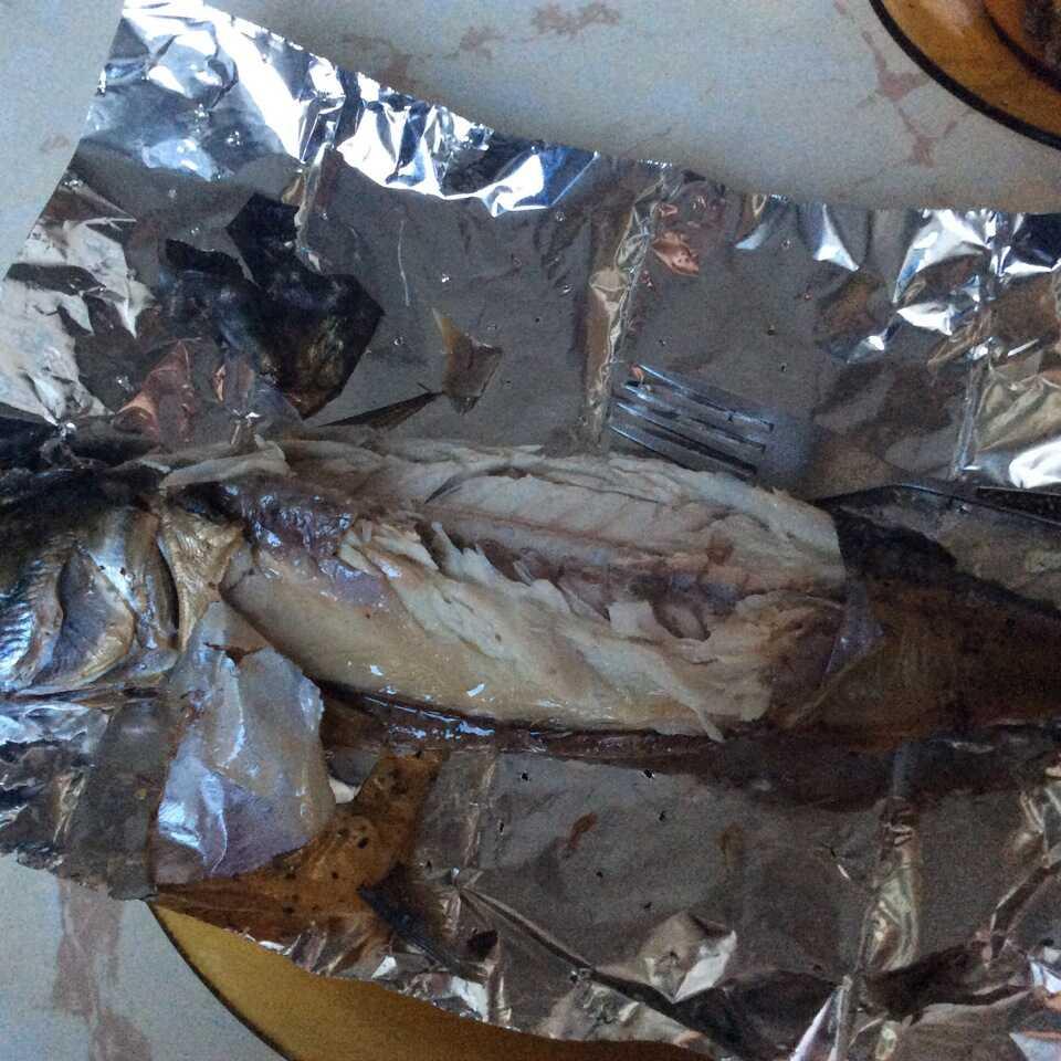 Как выглядит готовая рыба внутри