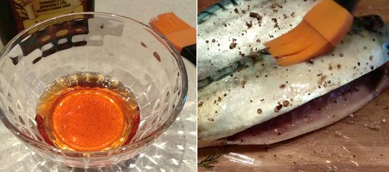 Обработка рыбы жидким дымом
