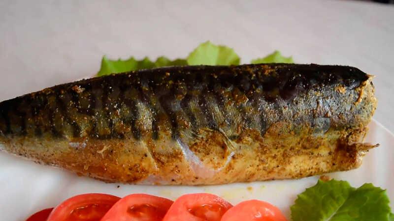 Копченая рыба в мультиварке в фольге