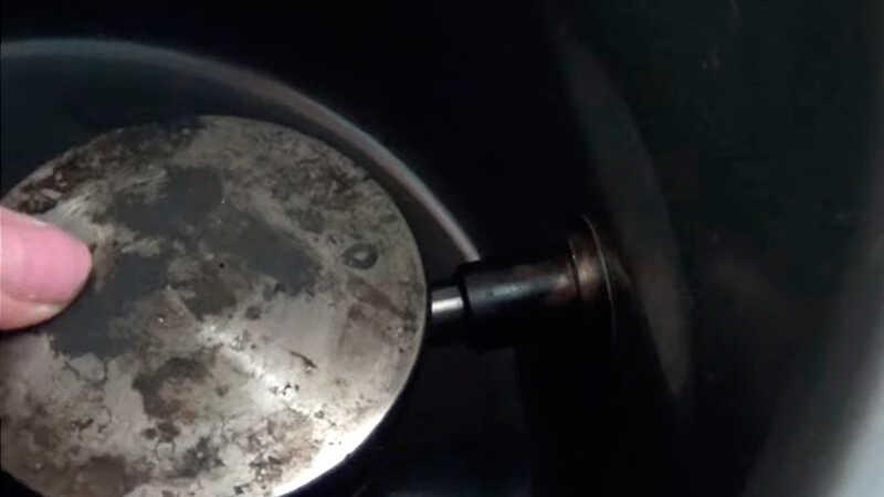 Установка лотка с щепой в мультиварку