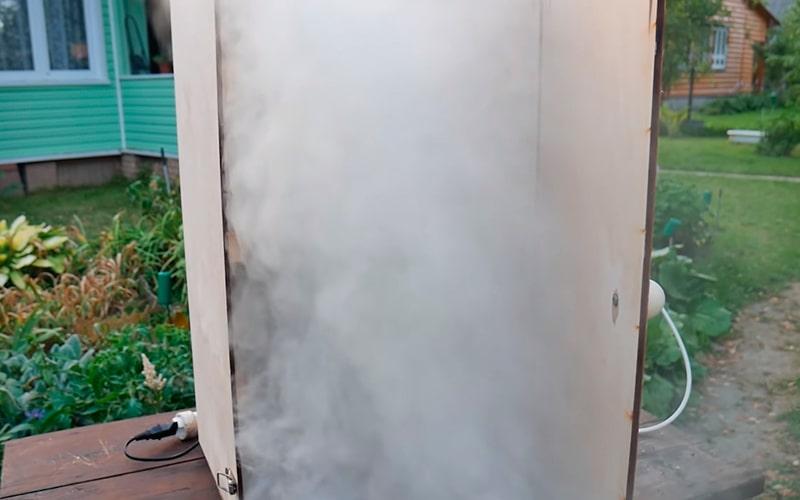 Необходимое количество дыма