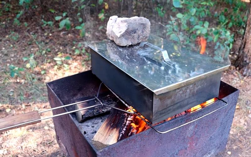 Процесс горячего копчения