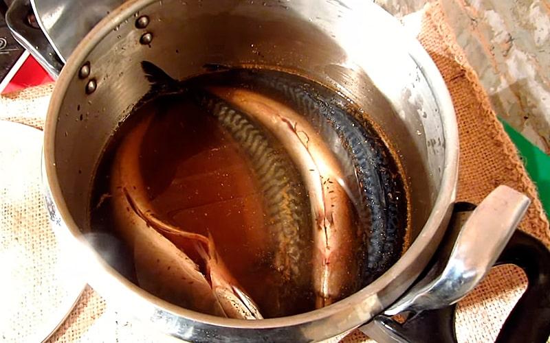 Маринование рыбы с тмином