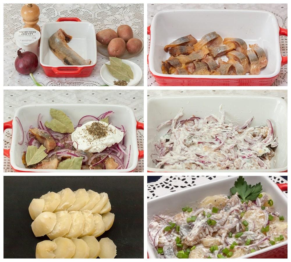 Приготовление венгерского салата