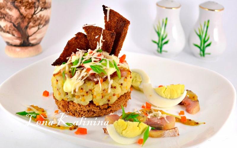 Салат-закуска «Скаген»