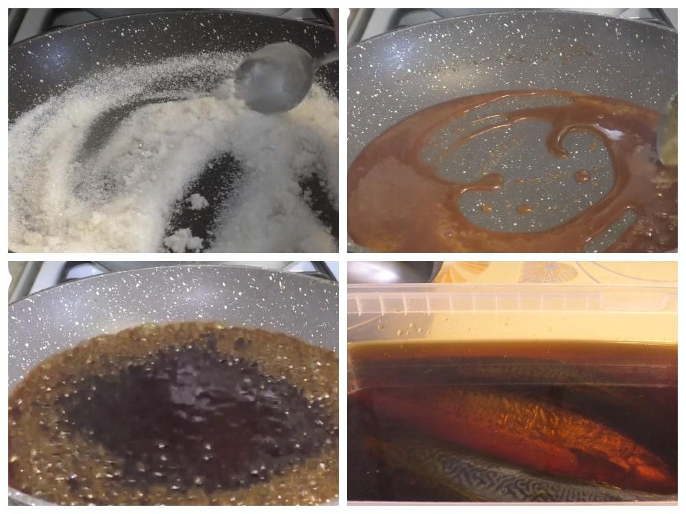 Скумбрия «Карамельная» с жареным сахаром