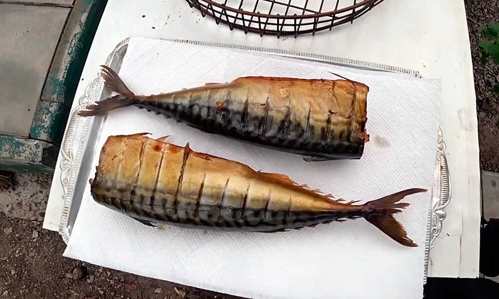 Рыба г/к приготовленная в бочке