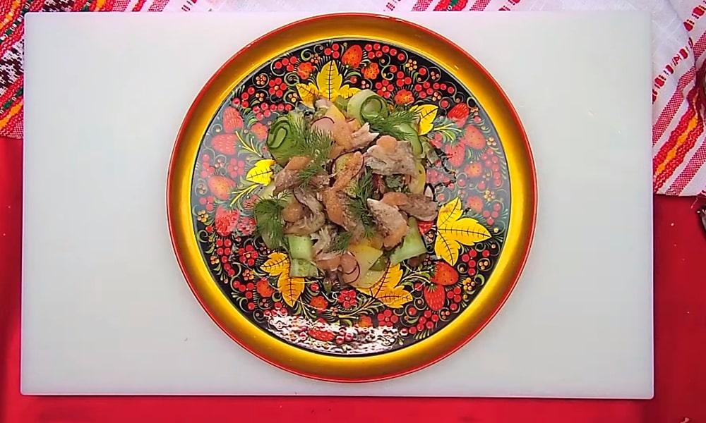Салат от шеф-повара Игоря Артамонова